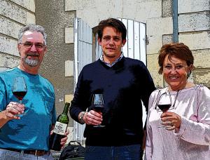 Chateau Cantenac Don Carter, Nicole Roskam-Brunot, Johan Roskam-Brunot 2