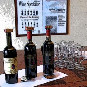 Biondi Santi bottles 1