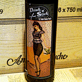 Drink 'n Stick label