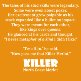 Killer Merlot label