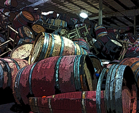 "At Napa Barrel Care ""there were stories of wine coming out of the warehouse into the parking lot."""