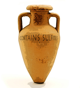 Amphora contains sulfites
