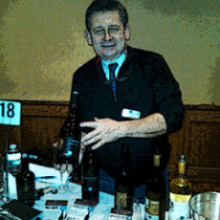 Marc Laderriere of Vina Robles at 2014 Massanois wine tasting.