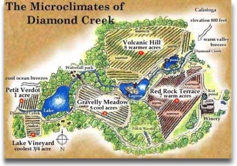 Diamond Creek map