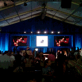 Live Auction stage at Auction Napa Valley 2015.