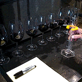 Barrel Blending Glasses