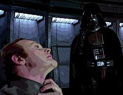 Darth Vader choke hold poster