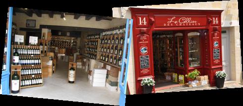 St Emilion wine Stores comp