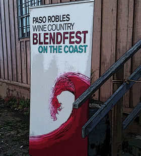 Blendfest sign