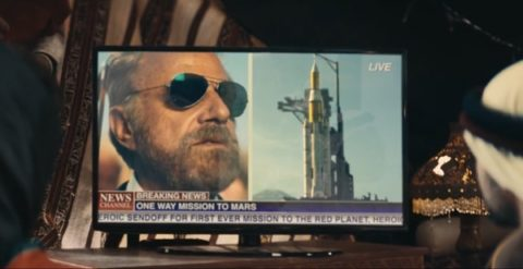 Most Interesting Man goes to Mars