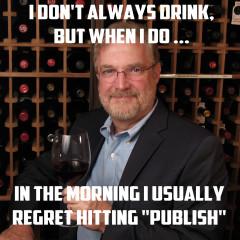 WineSnark Don Carter Don't Drink & Publish