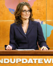 Tina Fey on Weekend Update